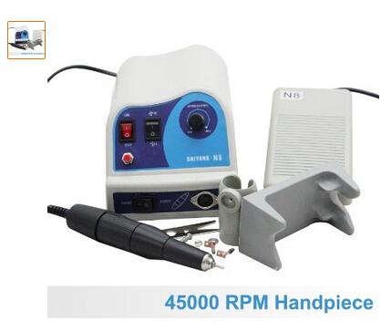 Dental maratón Micromotor 45K pieza de mano Handpiece
